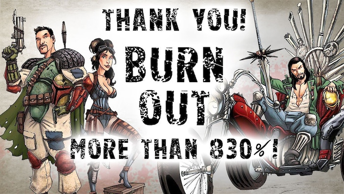 Burn Out is the first expansion for Eden, the post-apocalyptic skirmish game. Be careful, the world of Eden is violent and ruthless !