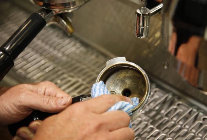 Dirty Espresso Machine