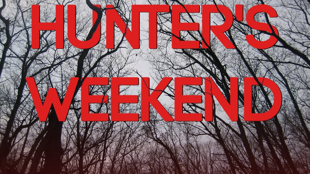 Hunter's Weekend project video thumbnail