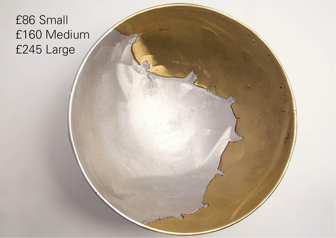 Aluminium & Brass (click for close up)
