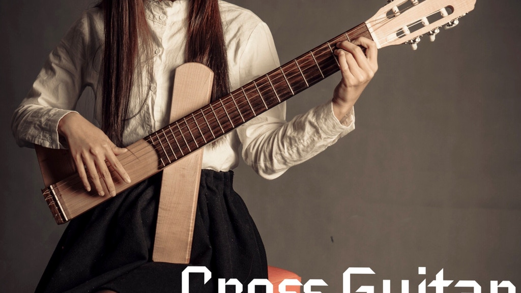 Cross Guitar - World's 1st Innovative crossing guitar project video thumbnail