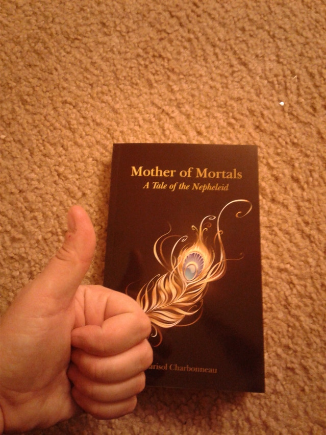 Mother of Mortals: A Tale of the Nepheleid by Pat Bellavance