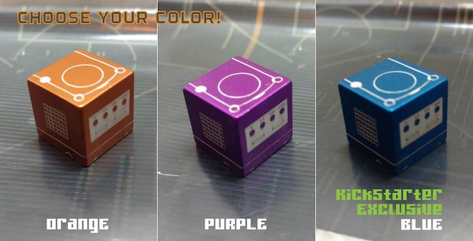 Fire Orange (L), Cosmic Purple (M), KS Exclusive Blue Falcon (R)