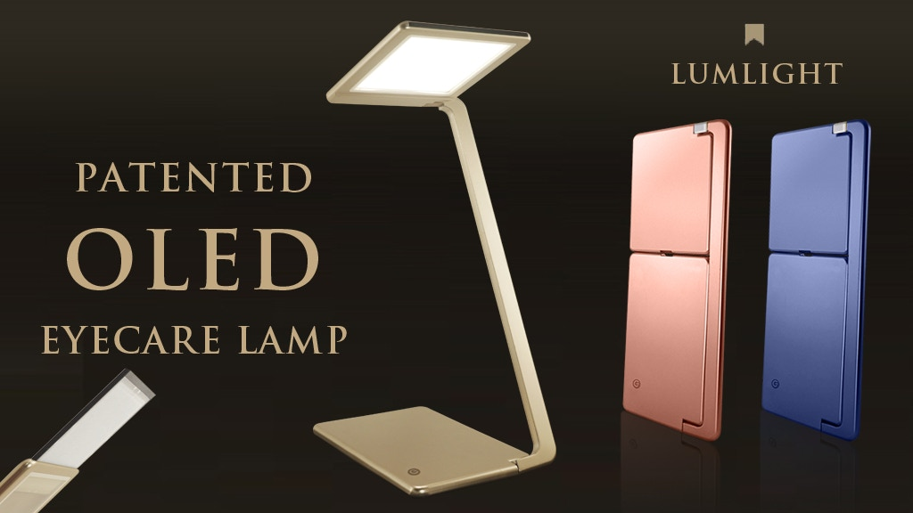 OLED EyeCare Lamp : Nature Light, No Blue-Light Hazard project video thumbnail
