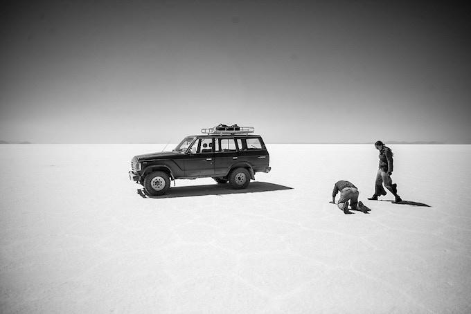 SDR Traveller team in Bolivia