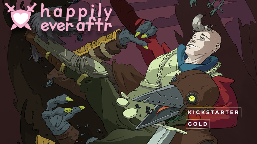 Kickstarter Gold: Happily Ever Aftr The Graphic Novel! project video thumbnail