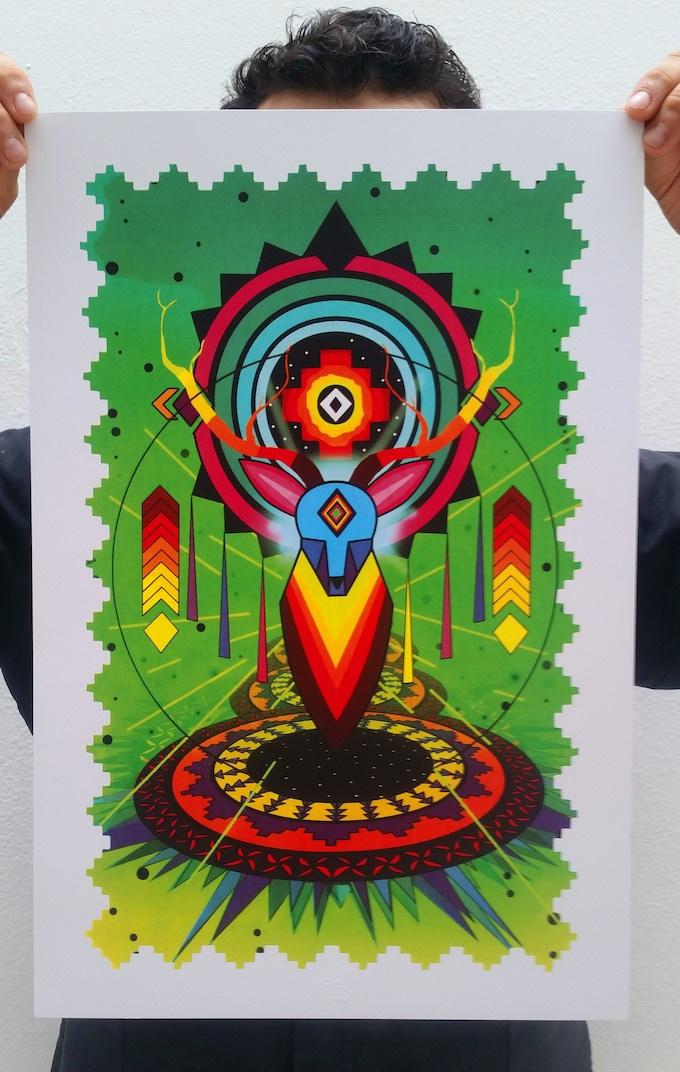 "Spaik ""MDMA"" Serigrafía, 30 x 45 cm"