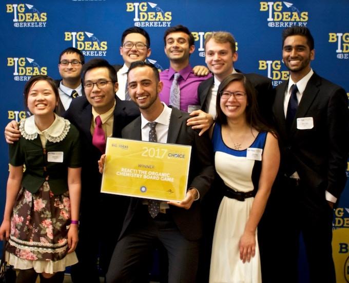 WINNER of the Big Ideas startup competition, UC Berkeley's international entrepreneurship contest.
