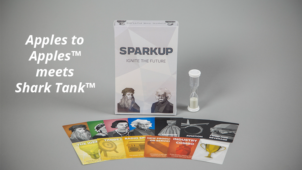 SPARKUP: A card game for creating the next big thing. project video thumbnail
