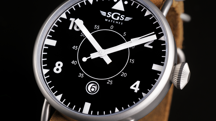 The Eagle is the first watch made with the same materials as some of the world's most expensive watches, for a fraction of the price.