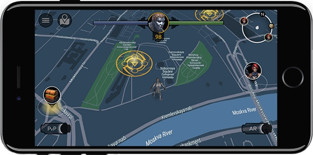 Portals on real Map