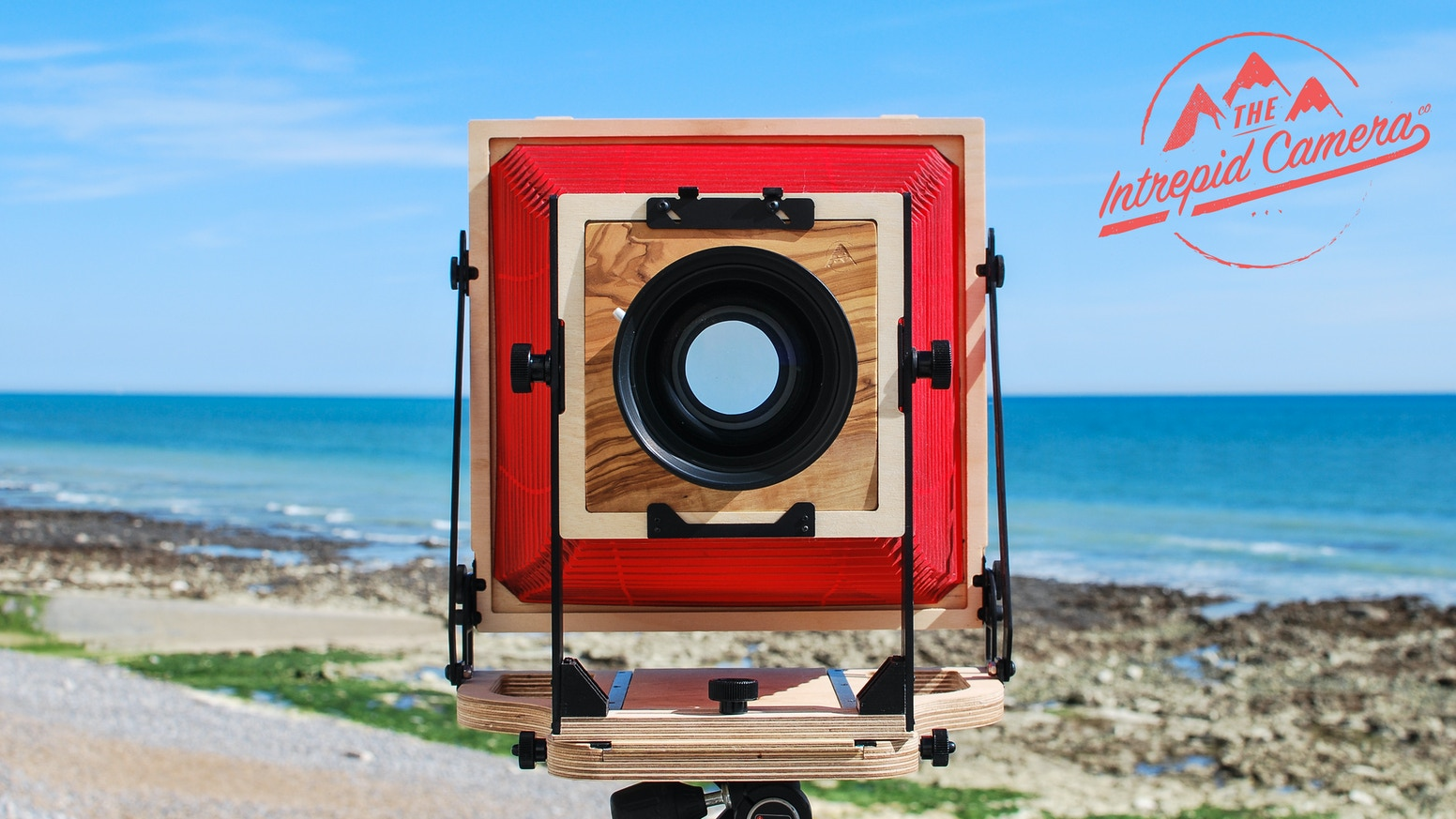 The Intrepid 8x10 is a high quality and super lightweight hand made Field Camera that wont break the bank.