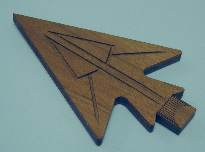 Kickstarter Exclusive Ornamental Robyn Arrowhead (this will also be the design for the enamel pin badge)