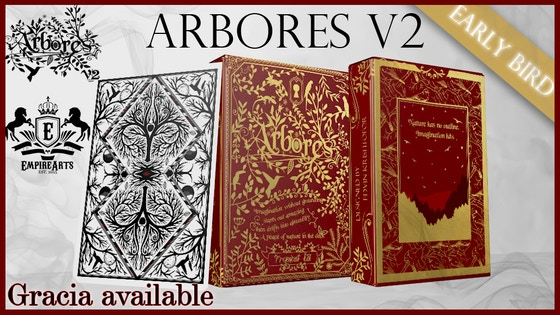 Arbores V2 Playing Cards // Gold Foil