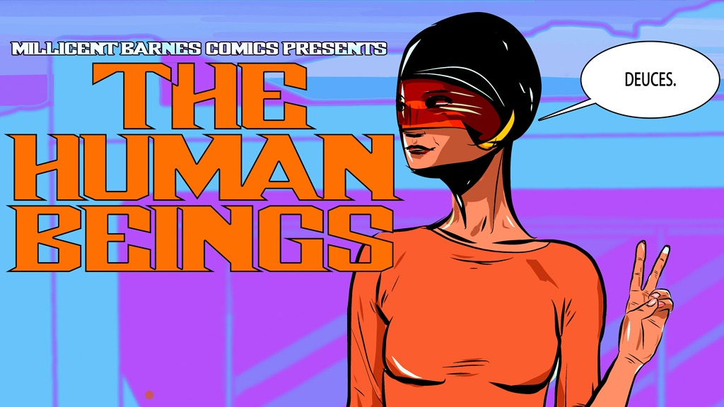 The Human Beings issue two by SJMcCune project video thumbnail