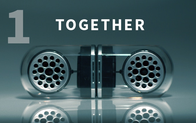 Together = Ultimate Portable Audio Solution