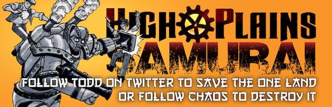Follow Todd (@Warden_Op) to #SaveTheOneLand or follow Chaos (@BrokenRuler) to #DestroyTheOneLand