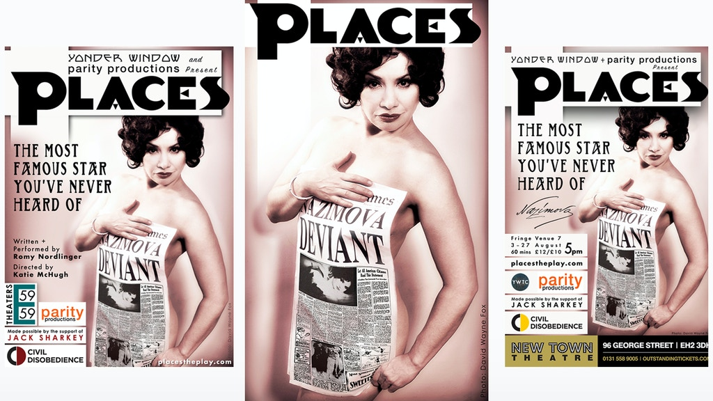 Help PLACES the play go from New York to Edinburgh Fringe project video thumbnail