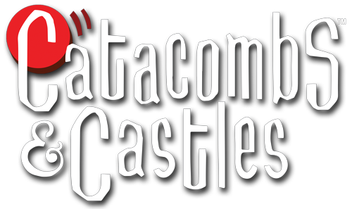 Catacombs & Castles is a fast paced, dexterity board game featuring new heroes in team based combat. Compatible with Catacombs 3E.