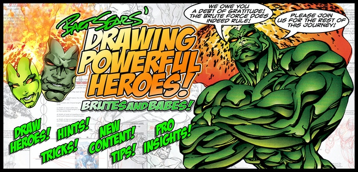 We have successfully funded! Continue the Journey for Bart Sears' Drawing Power Heroes and Black Book: The Art of Bart Sears. If you missed the Campaigns successful funding Click below to pre-order and Stay Tuned!