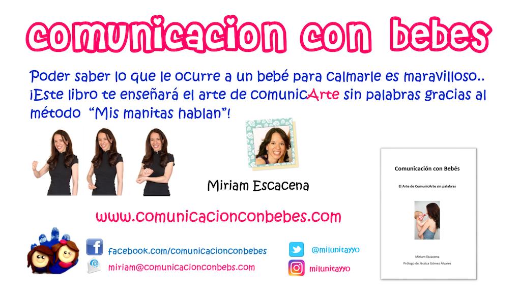 """Libro """"Comunicación con Bebés"""", de Miriam Escacena. project video thumbnail"""