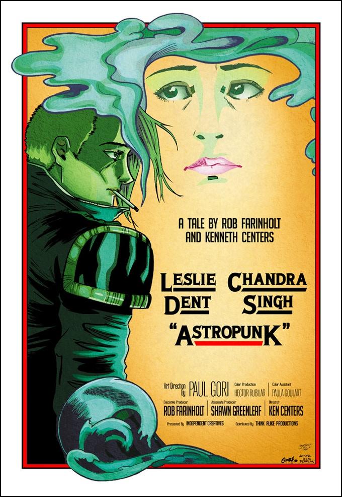 Paul Gori and Denis Lehmann tag team this Chinatown movie poster homage.
