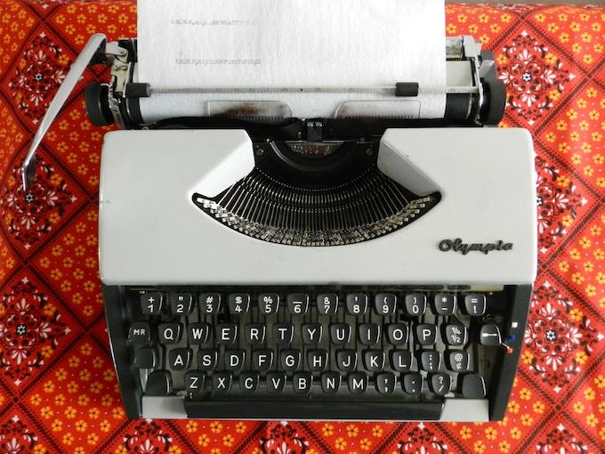 The Cursive Typewriter