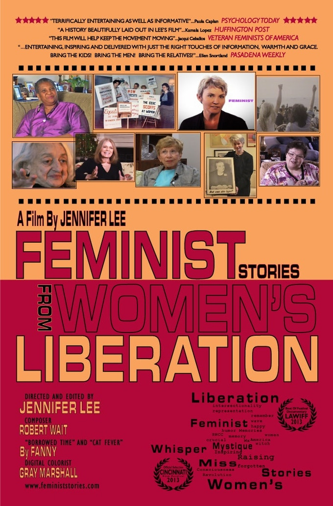 Feminist: Stories from Women's Liberation poster