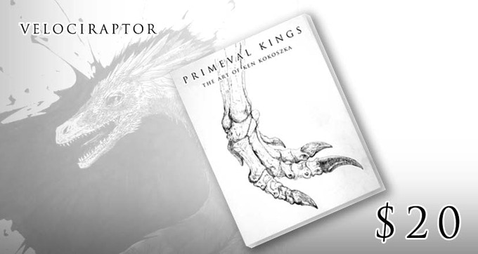 Velociraptor - Signed Print Edition of the Book (limited early bird tier)