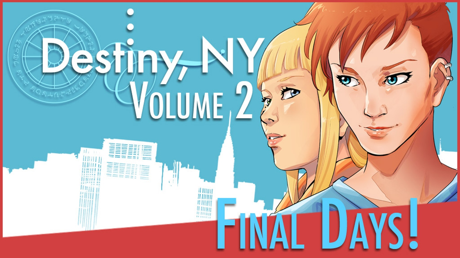 NOW ON AMAZON! Logan McBride was a magical girl with a destiny. Now, she's a 30-year-old New Yorker with rent to pay.