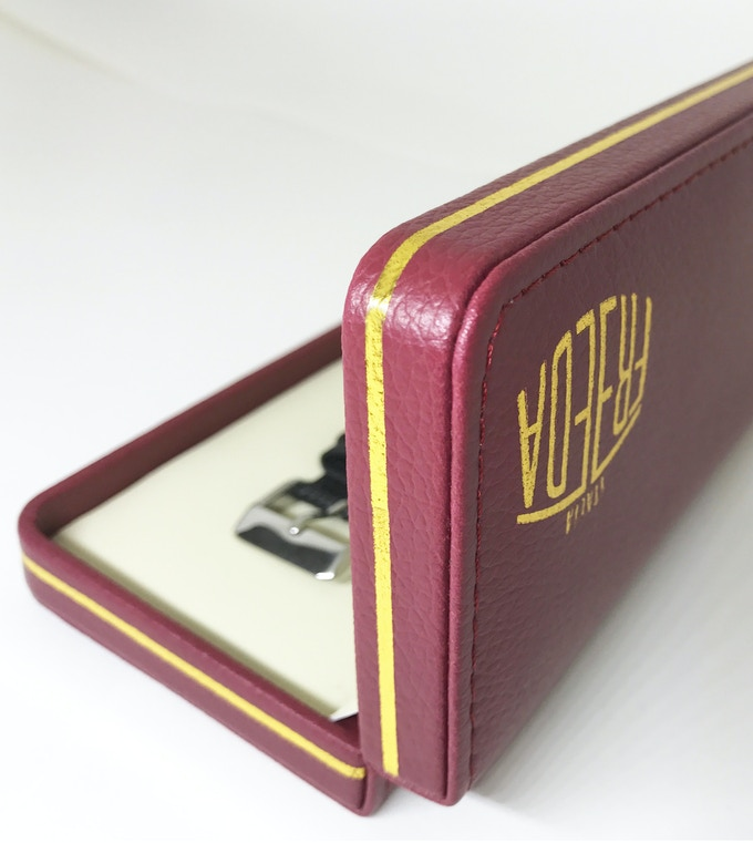 Vintage Watch Box - side view