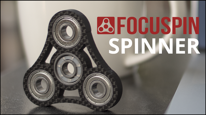 FOCUSPIN Is A High Quality Affordable Carbon Fiber Fidget Spinner Designed To Help You Focus On What's Important and Relieve Anxiety.