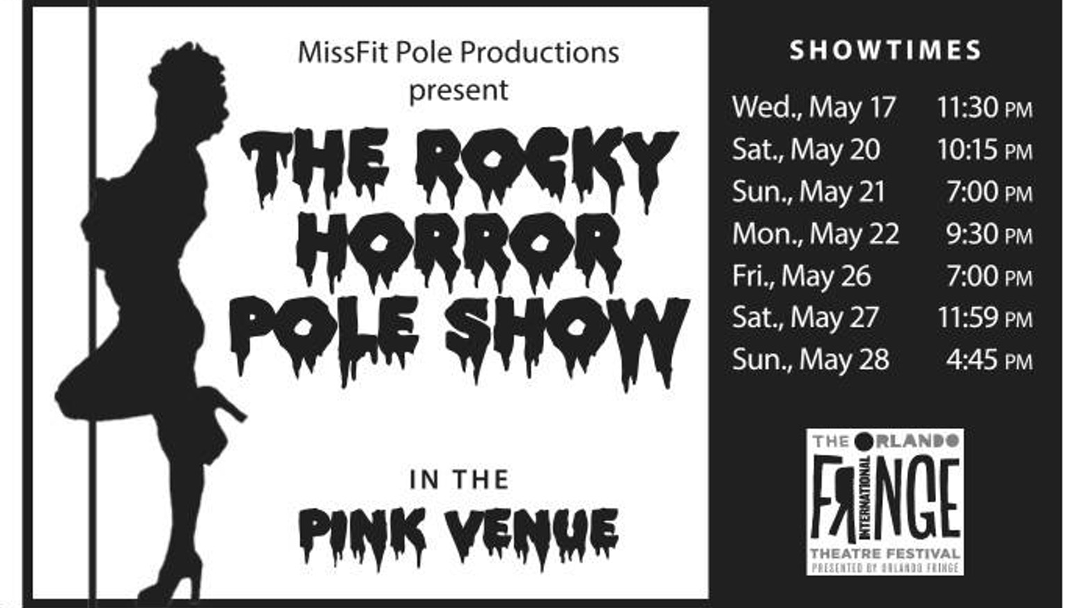 7d5fcba958 Rocky Horror Pole Show at Orlando Fringe 2017! by Velvet O Claire ...