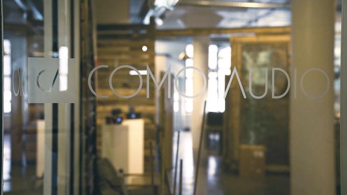 Como Audio office in the heart of Boston, Massachusetts