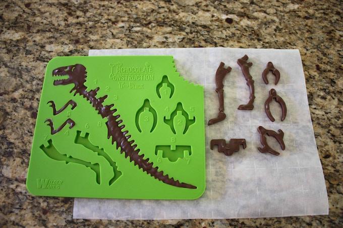 ChocolateConstruction: Build a 3D Edible Chocolate Dinosaur by Matt