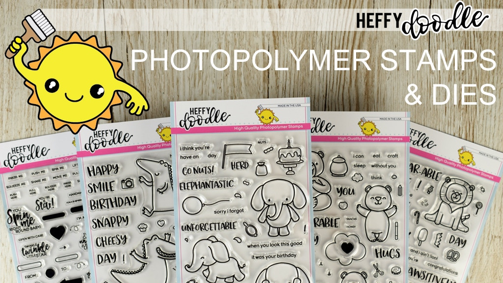 Heffy Doodle Photopolymer Stamps And Metal Craft Dies project video thumbnail