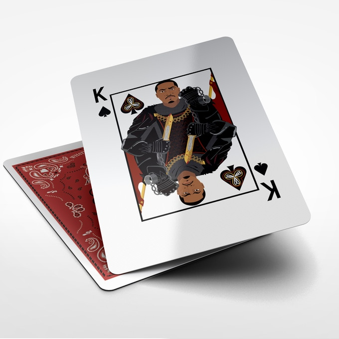 Nas as the King of Spades and the Leader of this deck