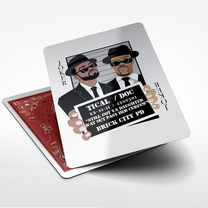 Redman and Methodman Inspired by the Blues Brothers as The Joker Card.