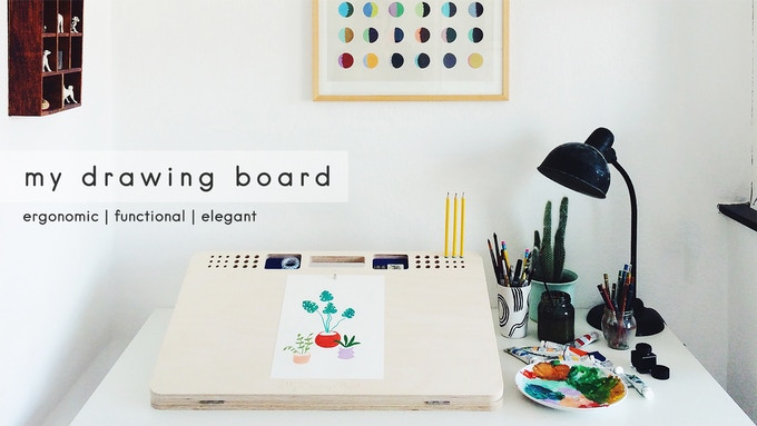 My Drawing Board Is An Ergonomic And Functional Table With A Simple Refined Design Thought To Draw In The Best Conditions Keep Your Work