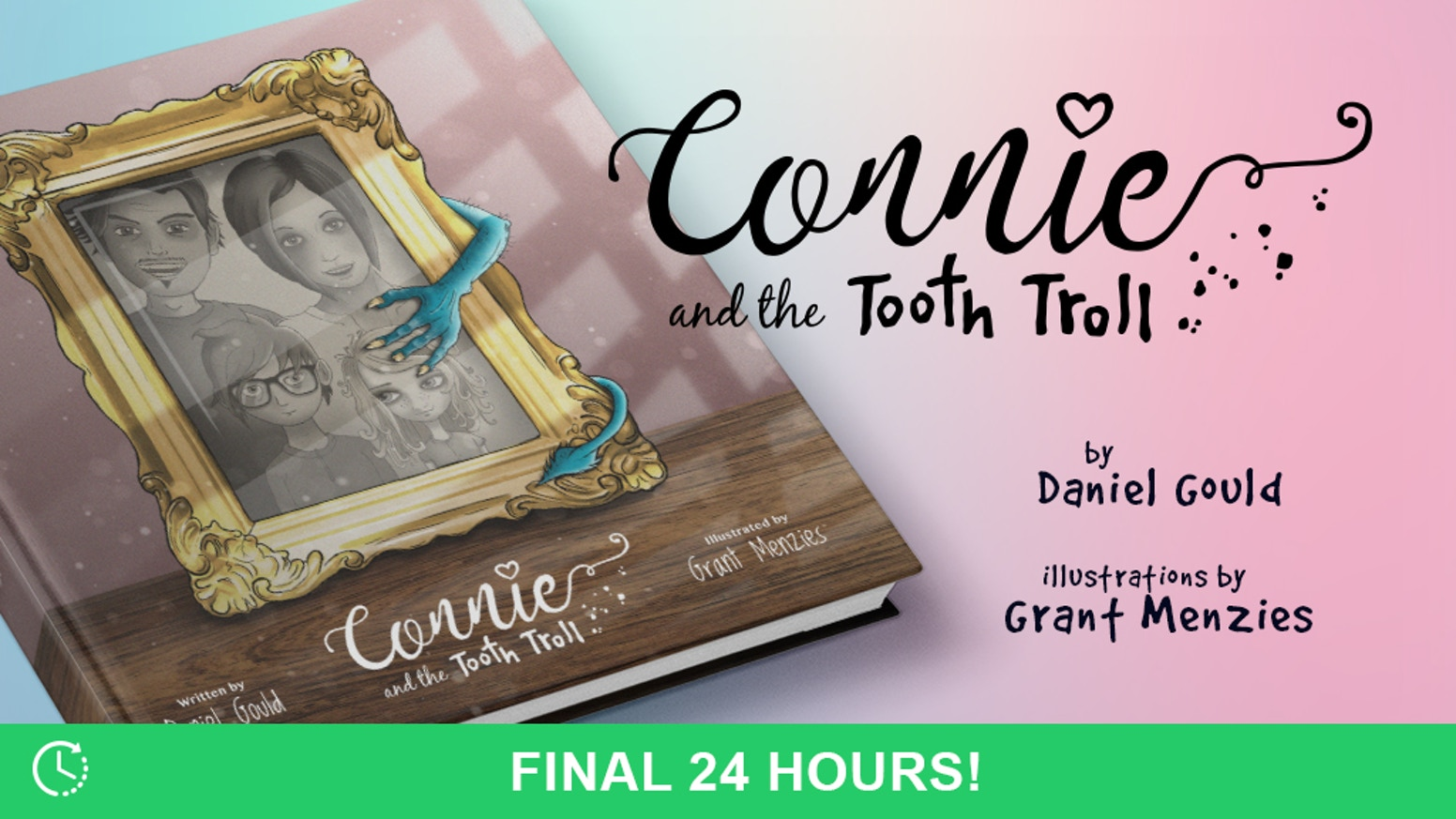 Enter Connie's imaginative world in the first of many adventures with this beautifully written and illustrated childrens book.