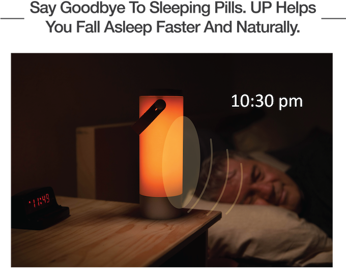 Up The Smart Light For Healthier Sleep Wake Cycle By Up