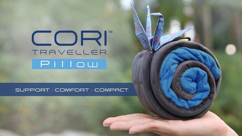 World's First Modular Travel Pillow - CORI TRAVELLER Pillow project video thumbnail