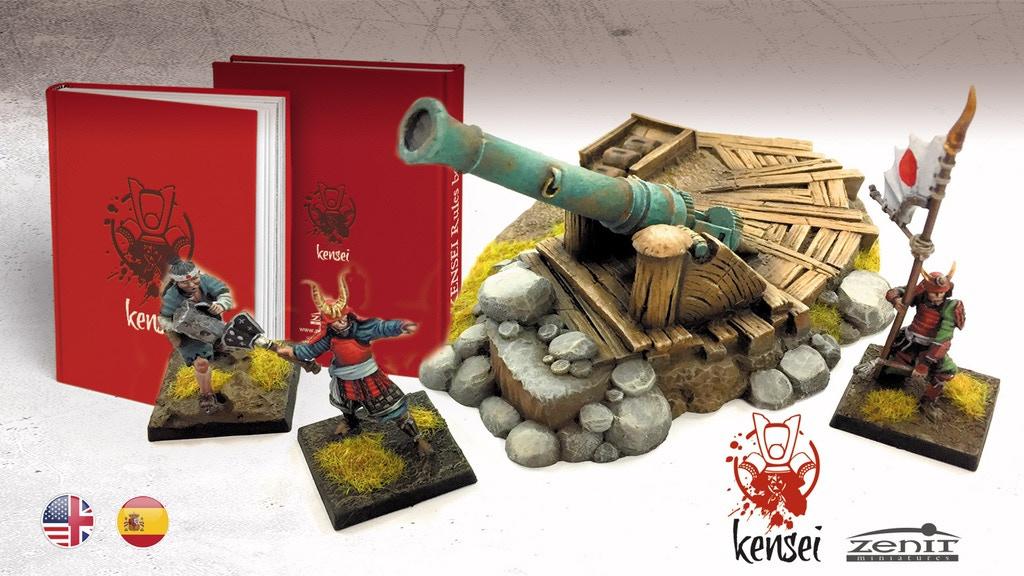 Kensei: Samurai Tabletop Wargame project video thumbnail