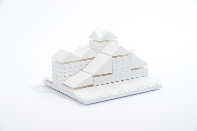 Cityscape White 01