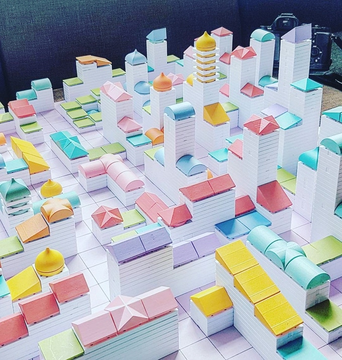 Design, build and expand your dream city with Arckit Cityscape series