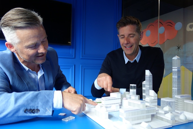 Ireland's favorite Architect and star of the hit RTÉ TV series 'Room To Improve', Dermot Bannon, discussing piazzas and vistas with Arckit founder Damien Murtagh