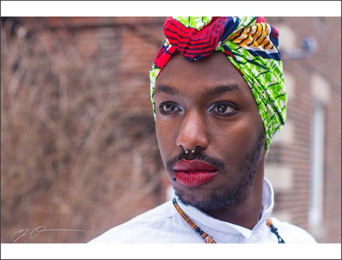 """Brian: Queer Rwandan"" Limit(less) Print: 14x11 inch Signed, Color Matte with White Trim"