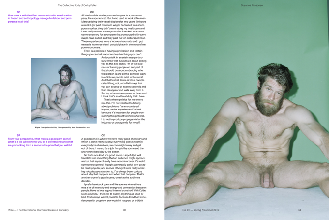 Colby Keller photographed by Mark Peckmezian