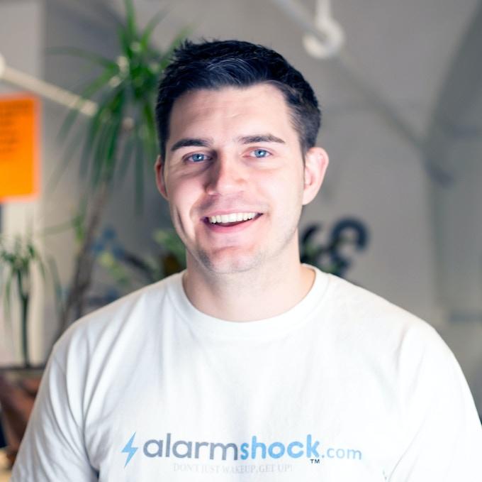 Hi, I'm Callum, Alarmshock Founder