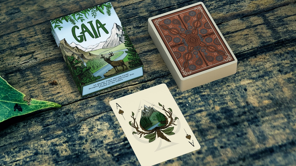GAIA Playing Cards project video thumbnail